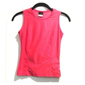 Nike pink sleeveless dri-fit top Sz XS
